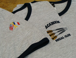 Embroidery Acadien Dart Club