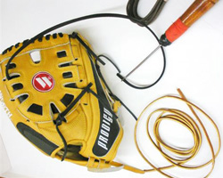 baseball softball gloves lacing services
