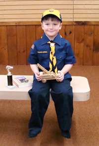 Cub Scout uniforms and supplies